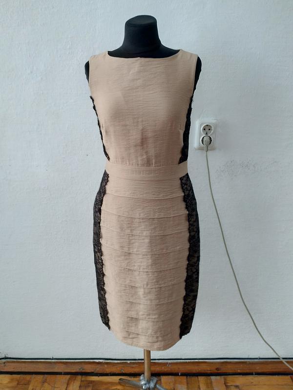 Стильное женственное элегантное платье