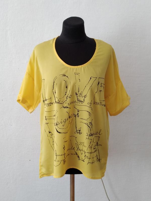 Стильная модная яркая блуза