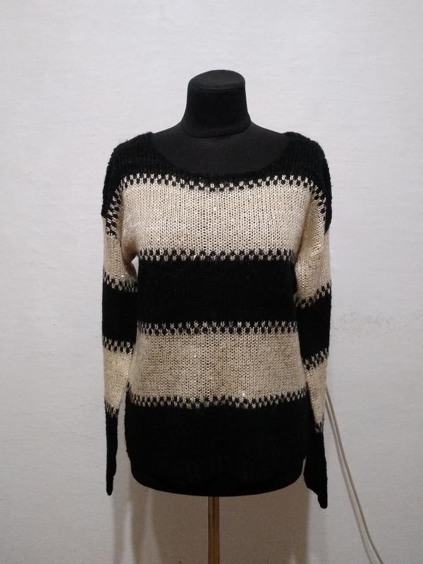 """Стильный свитер """" золотинка """" размер 10"""