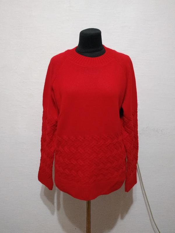 """Стильный свитер """" красная королева """" большого размера"""