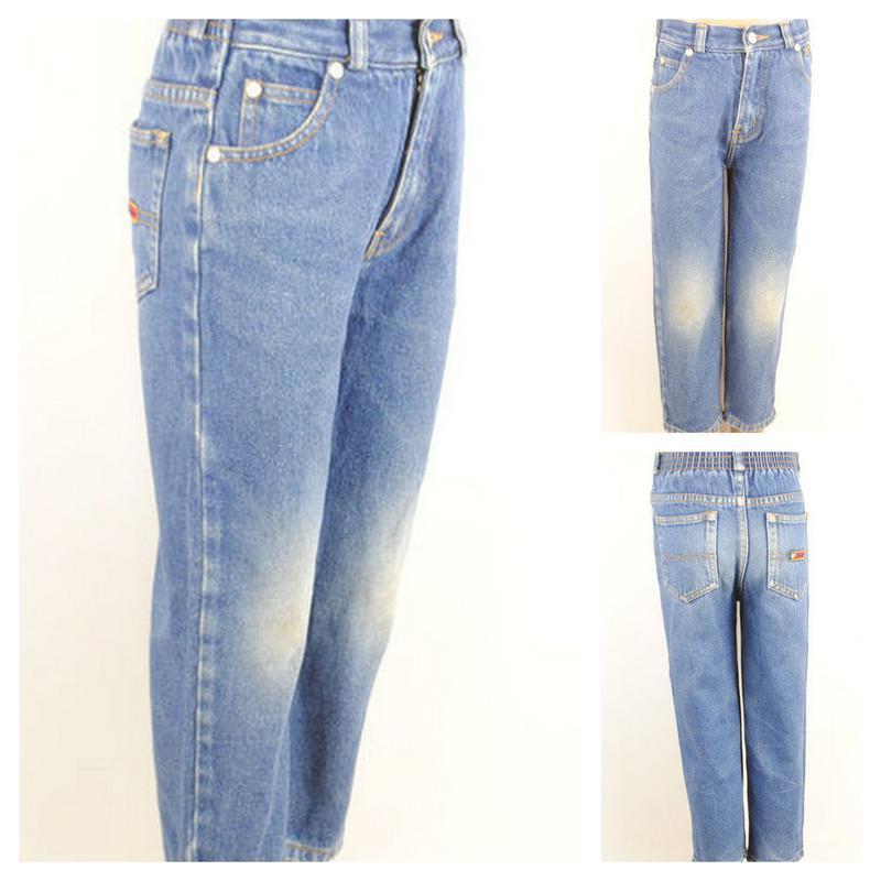 № 28/1  джинсы для мальчика возраст 3-4 года рост 104 см.