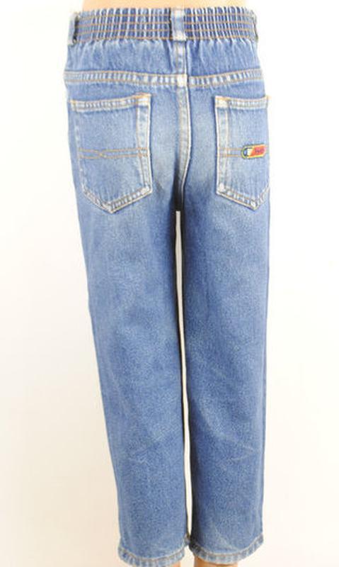 № 28/1  джинсы для мальчика возраст 3-4 года рост 104 см. - Фото 2