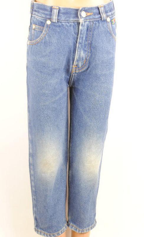 № 28/1  джинсы для мальчика возраст 3-4 года рост 104 см. - Фото 4