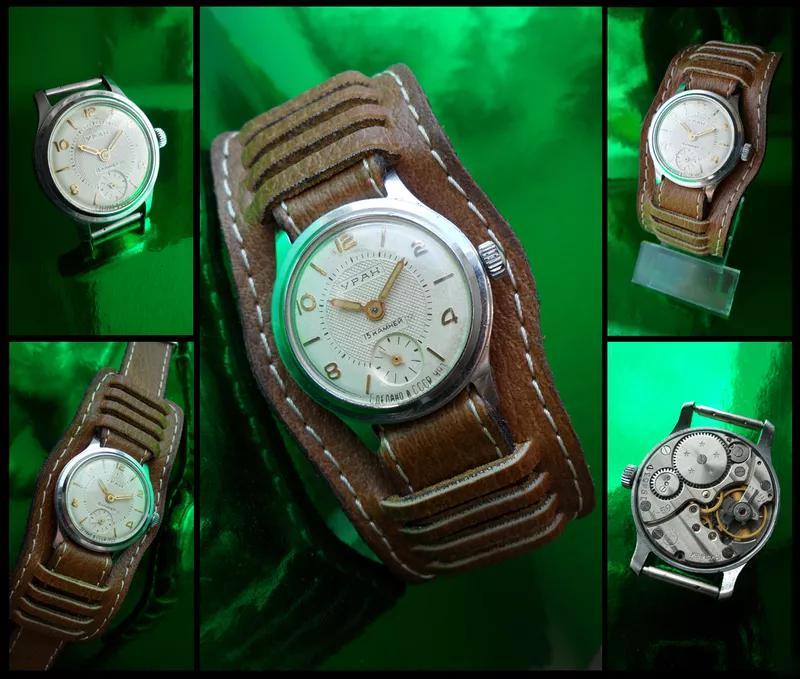 Часы «УРАН_2602» сделано в СССР 1959 г.