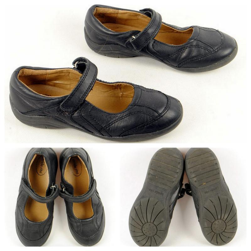4/25  детские туфли  stride rite для девочки натур кожа размер 31