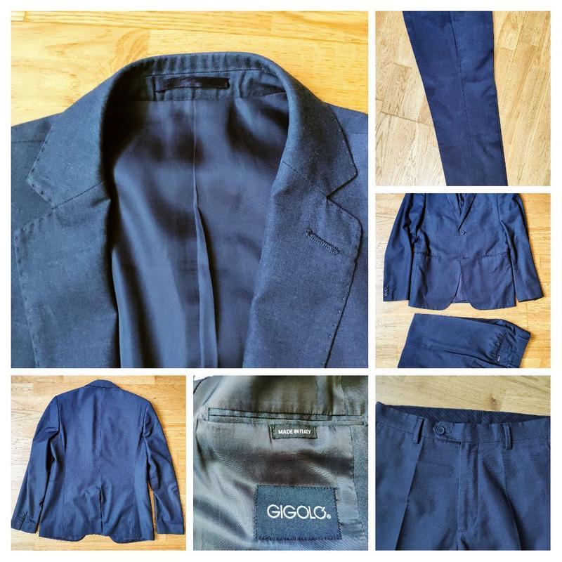 Приталенный костюм gigolo италия размер м 48
