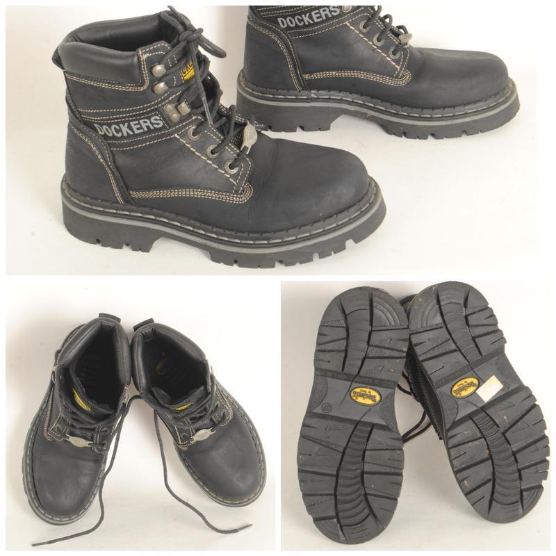 10/16 ботинки подростковые демисезонные dockers размер 37