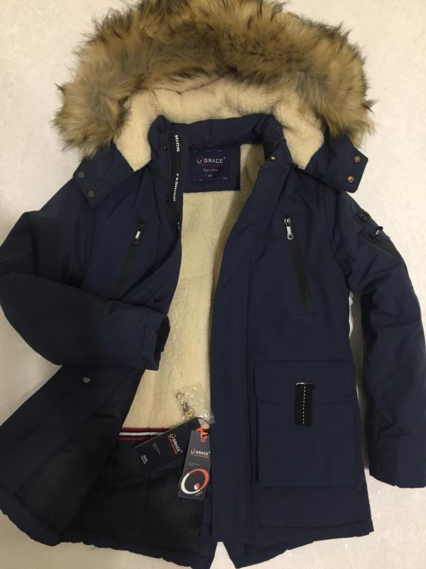 Куртки зимниедля мальчиков от фирмы grace. венгрия