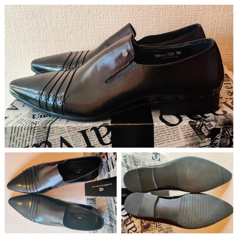 Туфли luciano carvari 39 размера