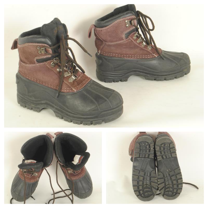 12/30 ботинки резиновые подростковые размер 36