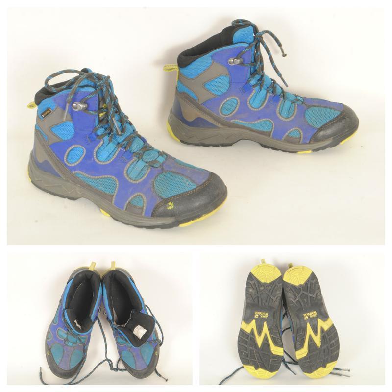 10/5 подростковые демисезонные ботинки jack wolfskin размер 37