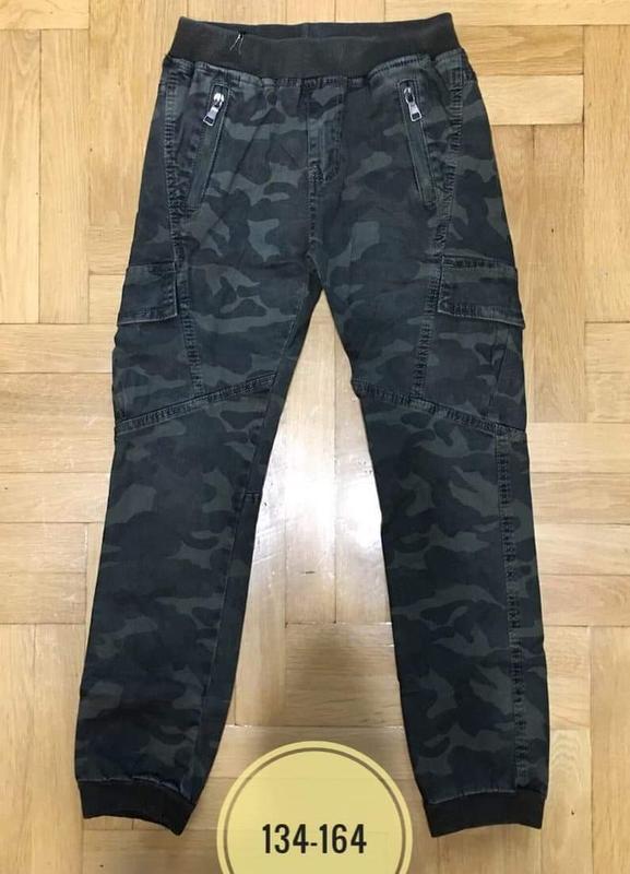 🔥крутые коттоновые штаны джогеры в стиле милитари🔥
