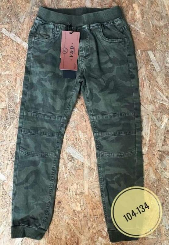 🔥крутые коттоновые штаны джогеры в стиле милитари для мальчиков