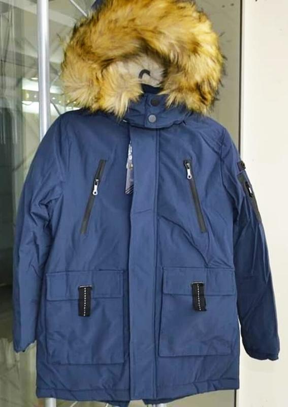 Куртка парка зимняя аляска для мальчиков. венгрия