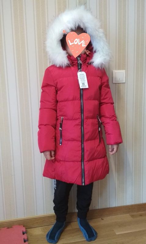Зимняя куртка на девочек. венгрия. glo story