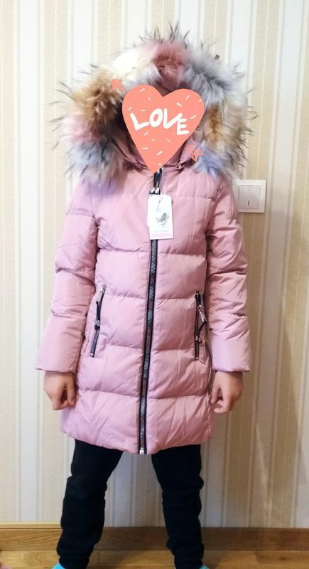 Курточка цвета пудры . зима. glo story. венгрия