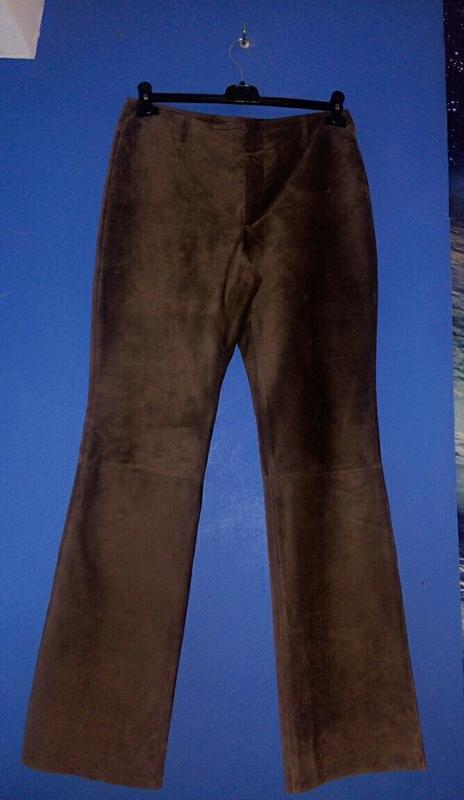 Замшевые штаны mark & spencer 48р