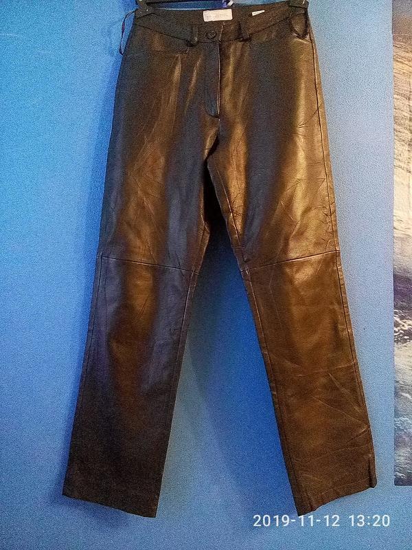 Кожаные брюки laura clement