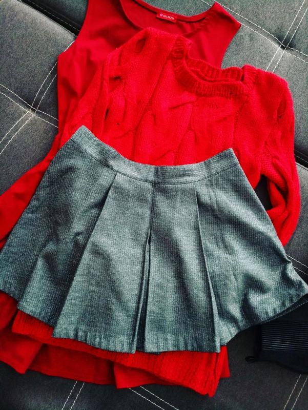юбка серебряная