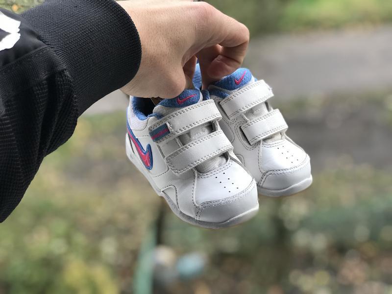 Nike lykin 11 дитячі шкіряні кросівки - Фото 2