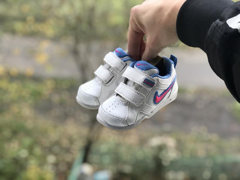 Nike lykin 11 дитячі шкіряні кросівки - Фото 3