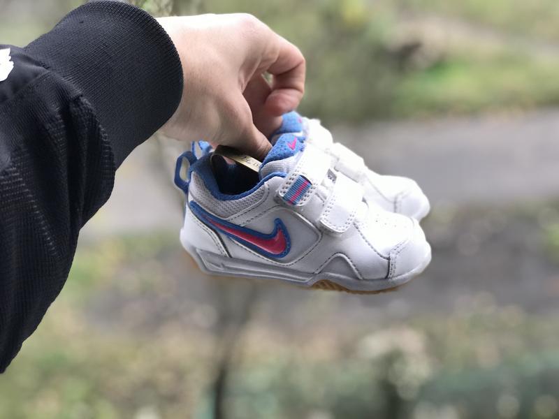 Nike lykin 11 дитячі шкіряні кросівки - Фото 5