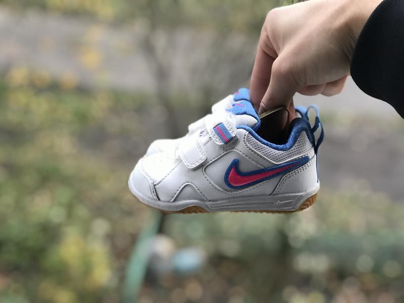 Nike lykin 11 дитячі шкіряні кросівки - Фото 6
