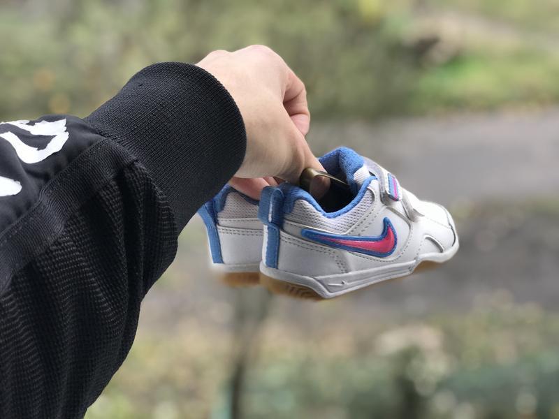 Nike lykin 11 дитячі шкіряні кросівки - Фото 7
