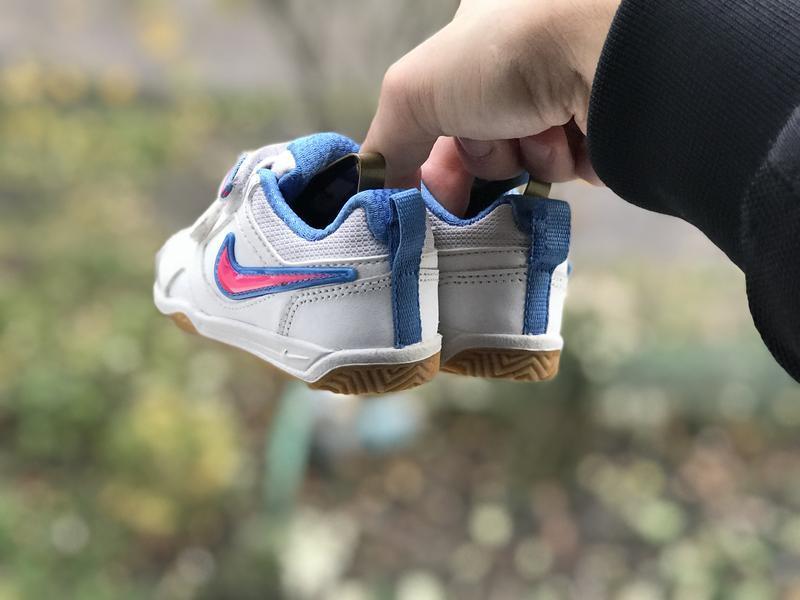 Nike lykin 11 дитячі шкіряні кросівки - Фото 8