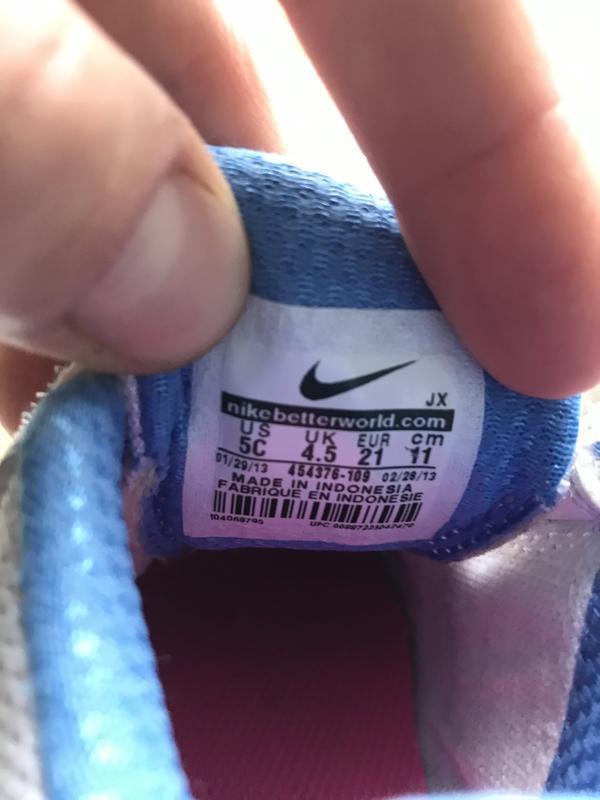 Nike lykin 11 дитячі шкіряні кросівки - Фото 9