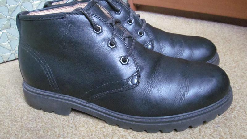 Ботинки зимние marks & spencer р.43.5. оригинал