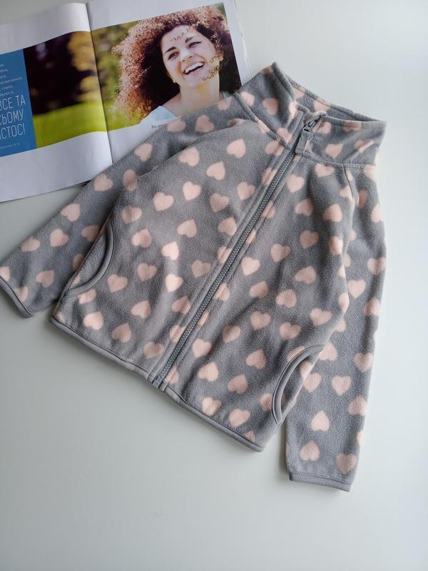 Флісовий светр,кофта 💗💗💗 3-4 роки