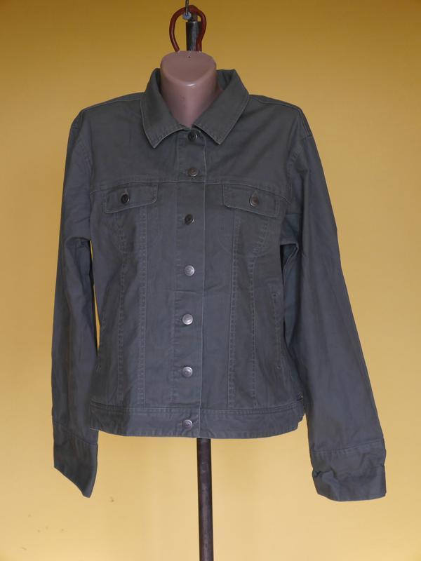 Куртка легка котонова розмір xl cotton ginny хакі