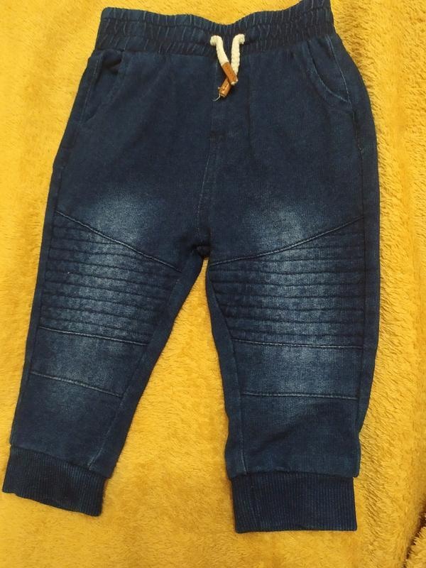 Спортивные по джинсы