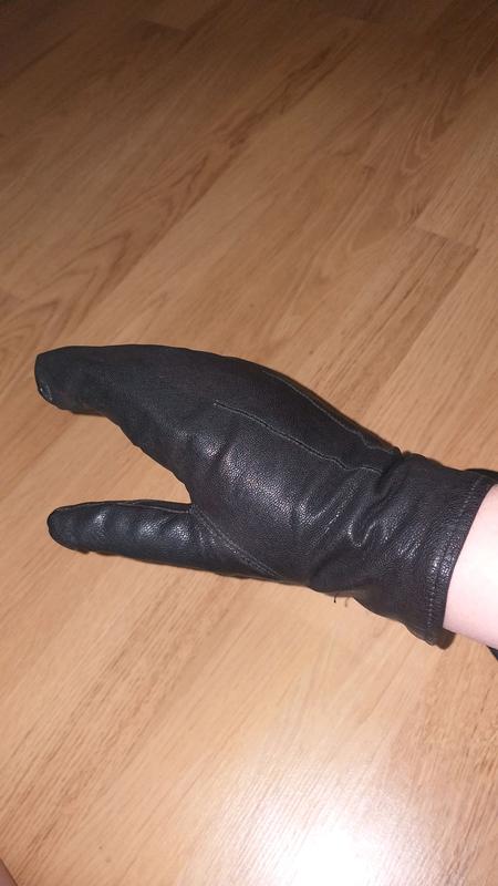 Варежки рукавицы кожаные