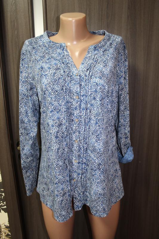 Хлопковая трикотажная блузка cotton в состоянии новой 2хl