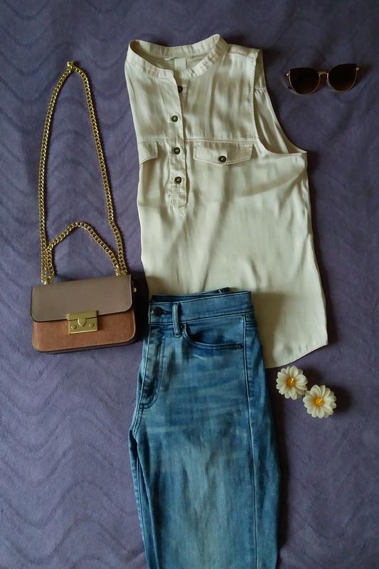 Шикарная легкая блуза от h&m