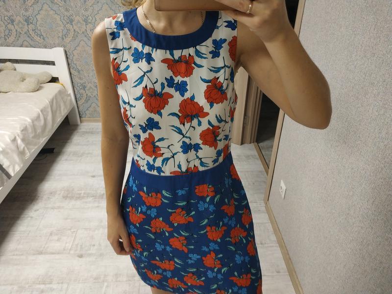 Красивое нежное платье миди