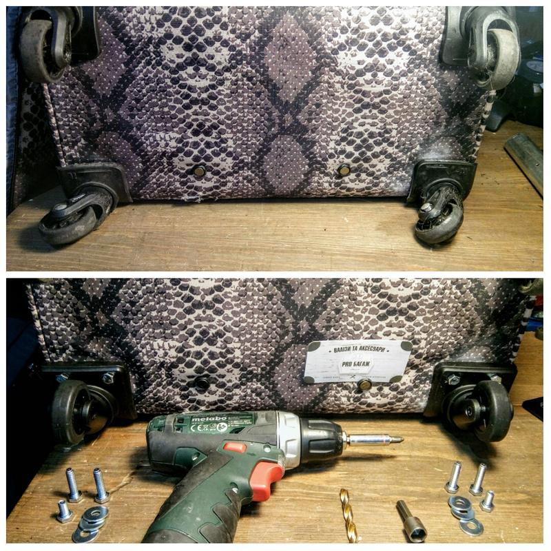 Ремонт чемоданов, сумок на колёсах - Фото 5