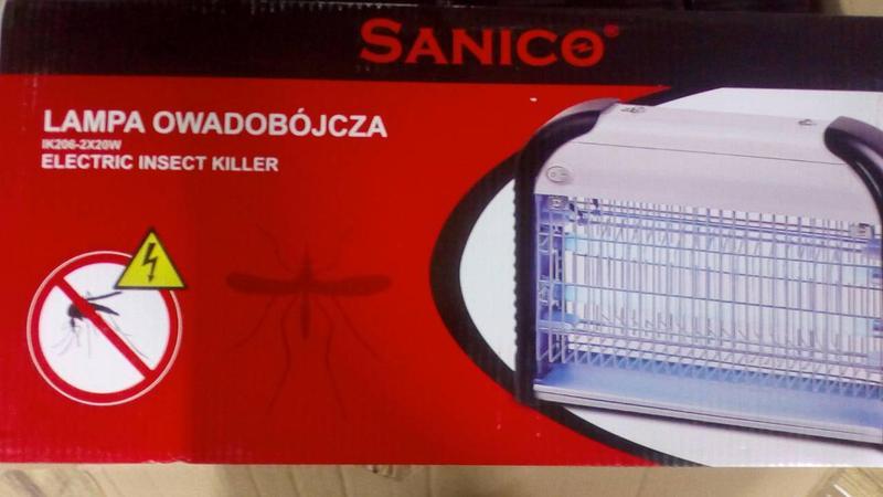 Мухоловка,уничтожитель насекомых, Sanico IK-206 , 40 вт