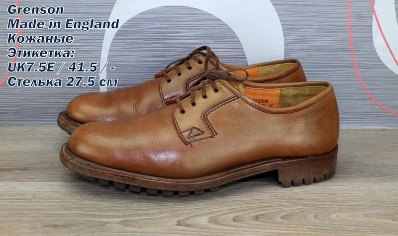Туфли grenson. made in ebgland.