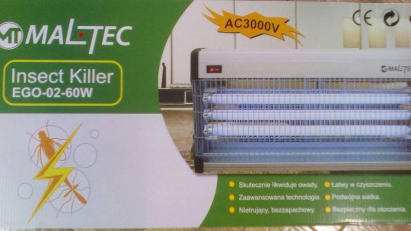 Уничтожитель насекомых,мухоловка Maltec EGO-02-60W