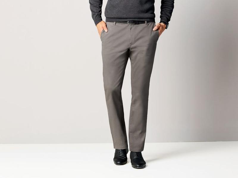 Стильные котоновые брюки чинос  50,34