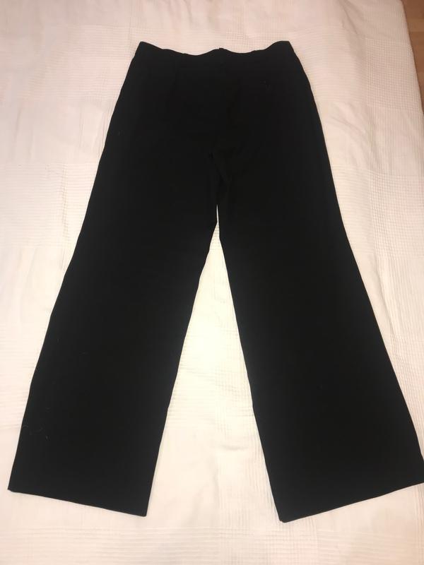 Armani шикарные широкие брюки 100% шерсть