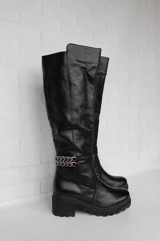 Зимние кожаные сапоги, сапожки 36, 38, 40 размера