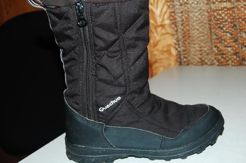 Зимние термо ботинки quechua 34 размер