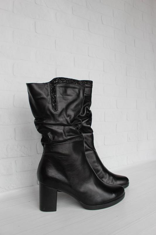 Зимние кожаные сапоги, ботинки, полусапожки 36, 39, 40 размера...