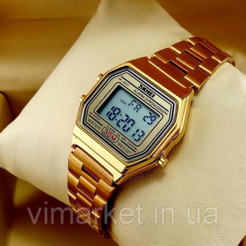 !!!ОГРАНИЧЕНОЕ ИЗДАНИЕ!!! Наручные часы Skmei 1415 Gold