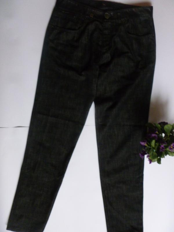 Брендовые джинсы дорогие унисекс отделка пояса лайковая кожа