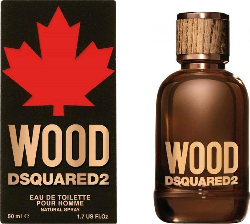 Туалетная вода для мужчин dsquared2 wood for him 50 мл